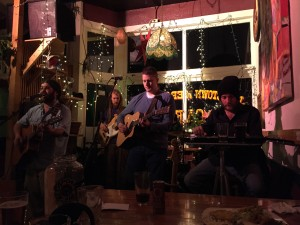 Jamestown Merc full band singing